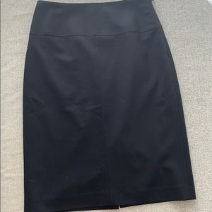 Banana Republic Women's Black Work Skirt